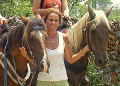 Horse riding in the Dominican Republic